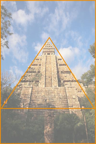 クリスタルスカル_三角構図