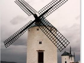 コンスエグラの風車群