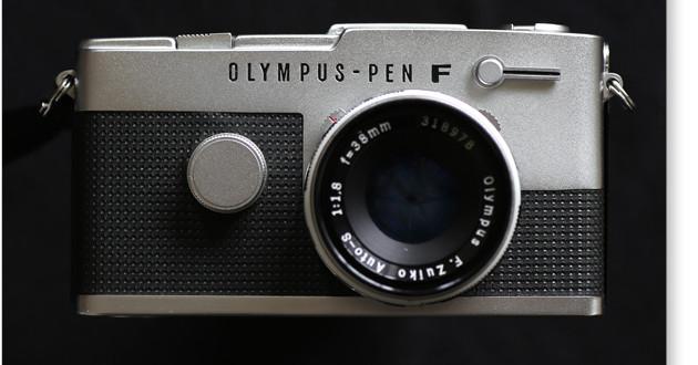 olympus pen ft 正面
