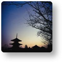 法起寺の夕暮れ_icon_