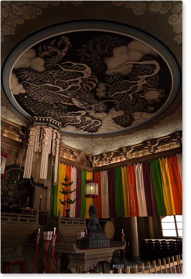 建長寺 法堂の雲龍図