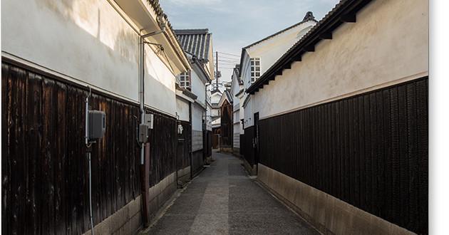 奈良萬の路地