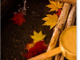 詩仙堂の手水鉢