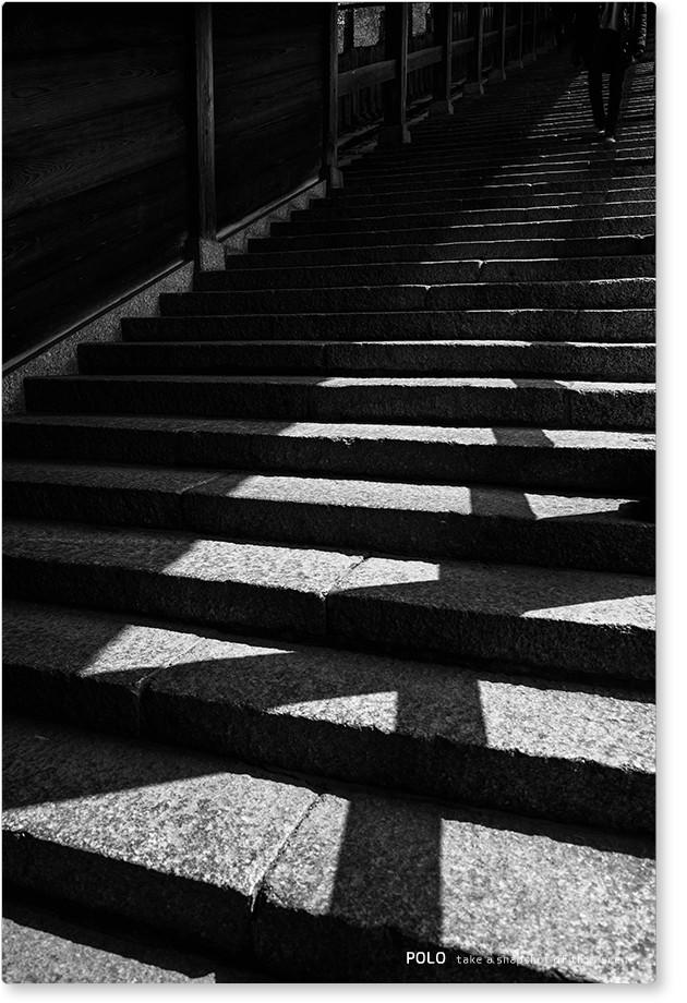 二月堂の階段 2